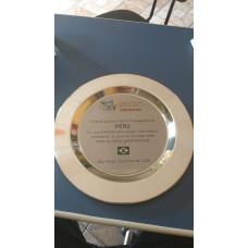 Prato em aço Inox Personalizado