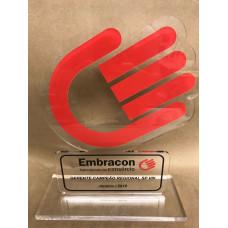 Troféu Empresarial Acrílico Personalizado E12027