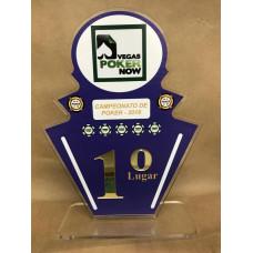 Troféu Esportivo Personalizado em acrílico 12074
