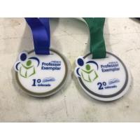 Medalha em metal personalizada - MMP0007