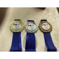 Medalha em metal personalizada - MMP0008