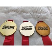 Medalha em metal personalizada - MMP0003