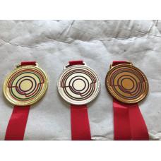 Medalha em metal personalizada - MMP0004