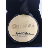 Medalha em latão personalizada - MPL0001