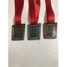 Medalha em metal personalizada - MMP0006