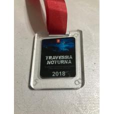 Medalha em acrílico personalizada - MAP0010