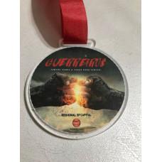 Medalha em acrílico personalizada - MAP0009
