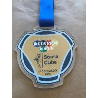 Medalha em acrílico personalizada - MMP0014