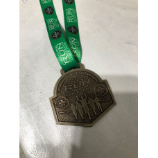 Medalha em Fundição de metal com fita personalizada - MMP0015