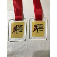 Medalhas em acrilico com gravação em UV - MMP0016