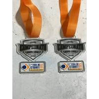Medalhas em acrilico com gravação em UV - MMP0019