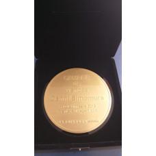 Medalha em metal com foto-corrosão - MF0022
