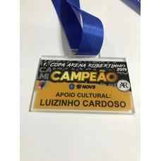 Medalhas em acrilico com gravação em UV - MMP00213
