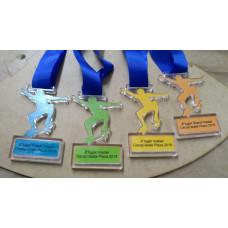Medalhas em acrilico com gravação em UV - MMP00215