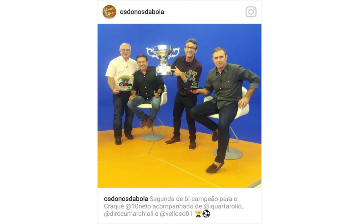 Premiação TV Bandeirantes - Os Donos da Bola