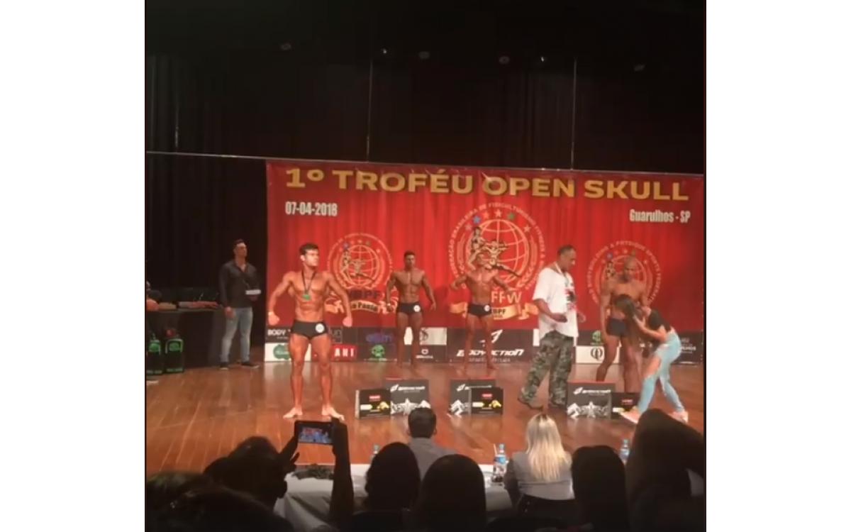 Troféu Open Skull