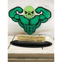 Troféu Esportivo personalizado FC02
