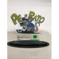 Troféu  Pé de Rato Personalizado em acrílico 12026