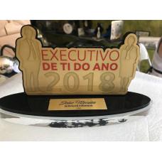 Troféu Empresarial Personalizado E12022