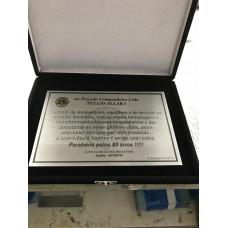 Placa de homenagem - PL-8025