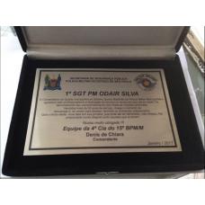 Placa de homenagem - PL-804