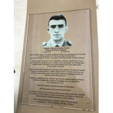 Placa de homenagem - PL-8018